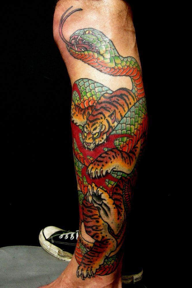 Le Tatouage Japonais Boss Tattoo